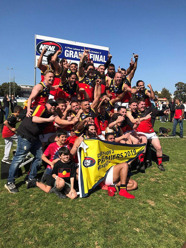 Fitzroy Stars Champion Football Team 2019