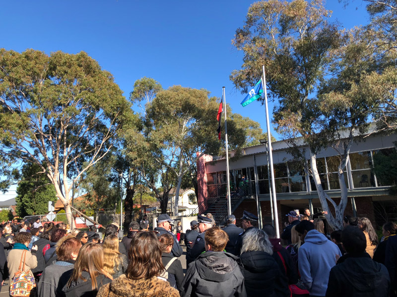 NAIDOC Week Flag Raising