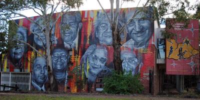 AAL Life Members Mural